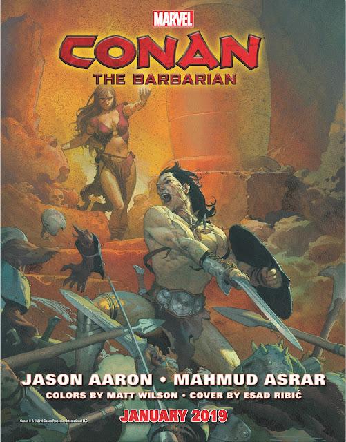 CONAN THE BARBARIAN marvel Series