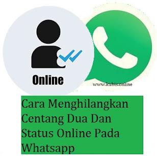3 Cara Menghilangkan Centang Dua Dan Status Online Pada Whatsapp