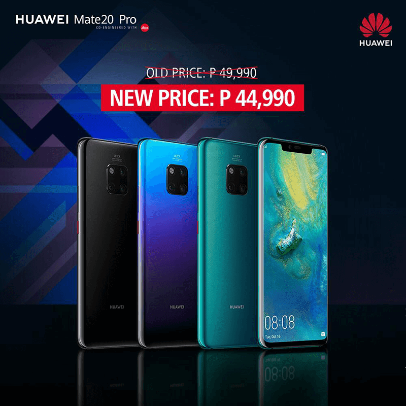 Huawei Mate 20 Pro price cut