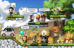MapleStory free PC MMORPG