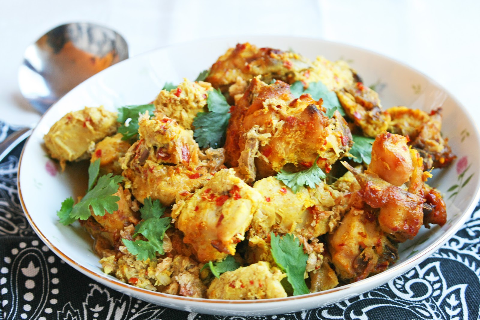 My Feasts Burmese Style Chicken Curry