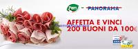Logo Affetta e vinci 200 buoni spesa da 100 euro