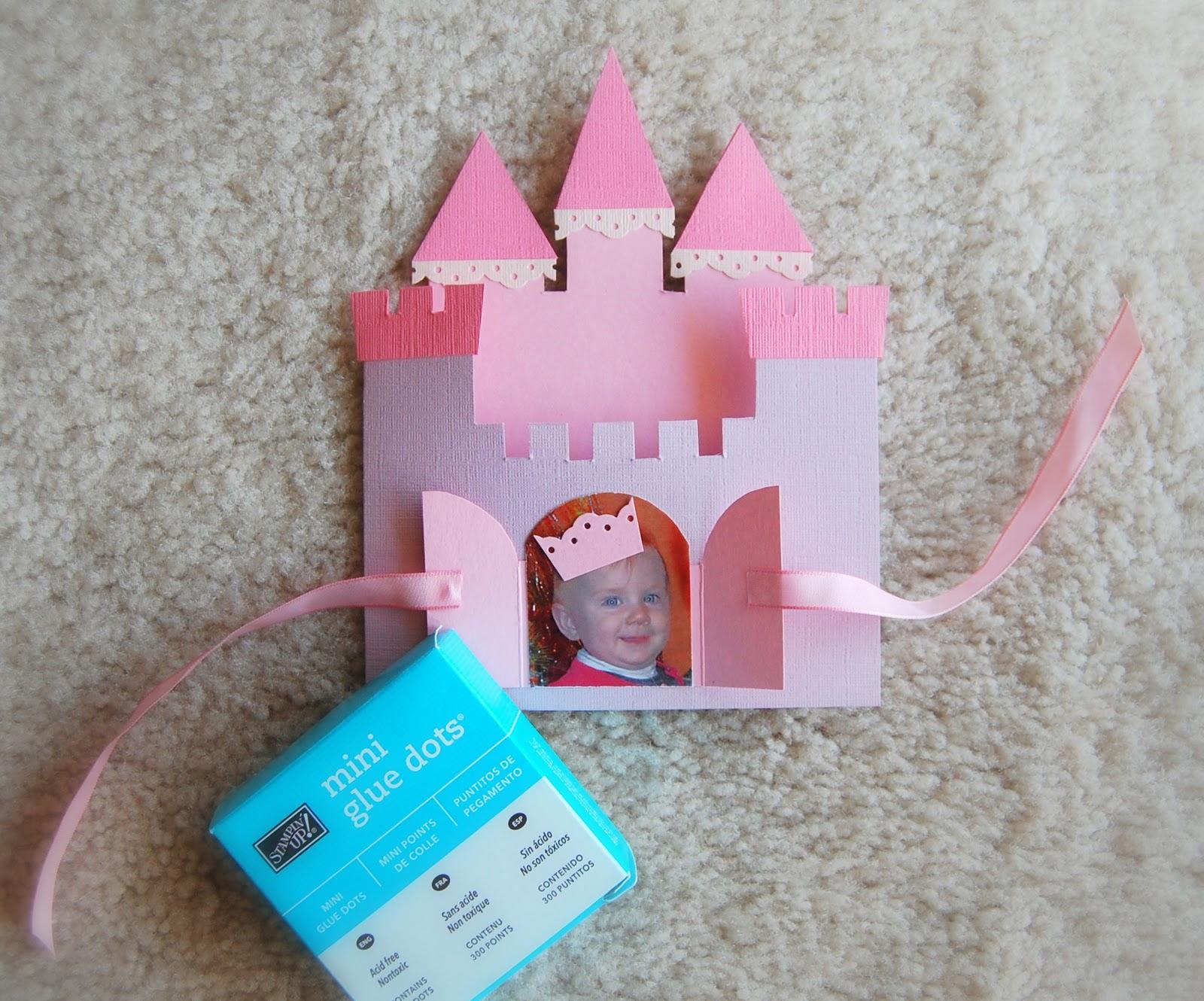 Замок открытка