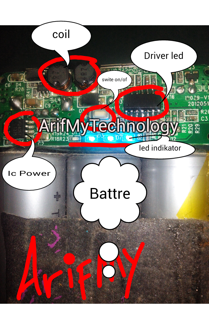 ArifmyTechnology: How to Repair Power Bank ?