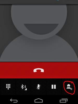 Conference call in Airtel aircel android