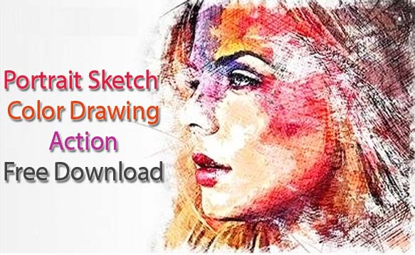 Sketch Color Drawing Action