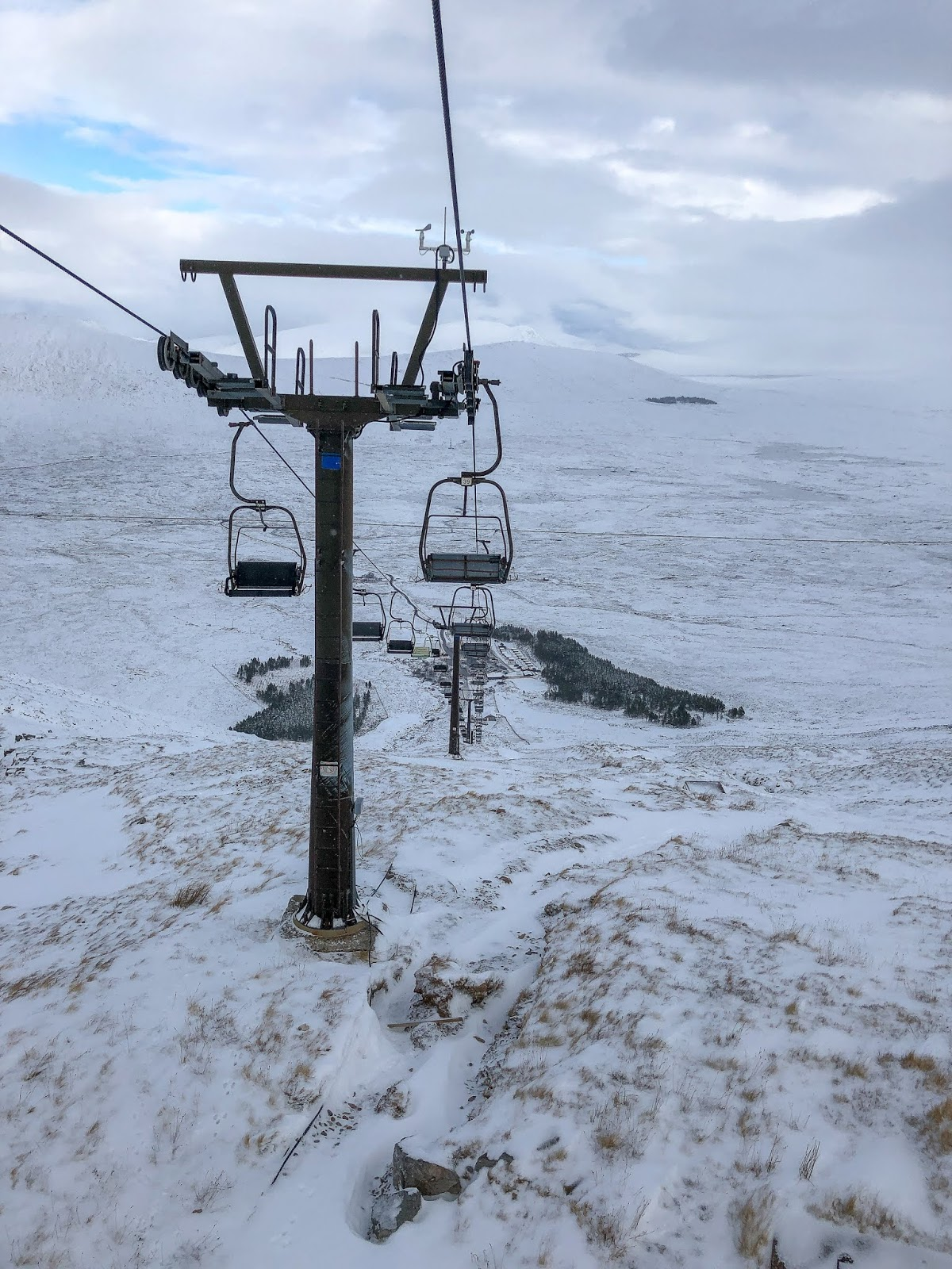 glencoe mountain chairlift