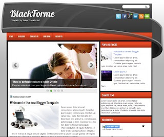 Blogger BlackForme Template