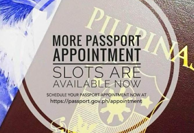 DFA opens 100,000 new passport appointments slots