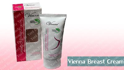 Vienna Breast Cream Mengencangkan dan Memperbesar Payudara