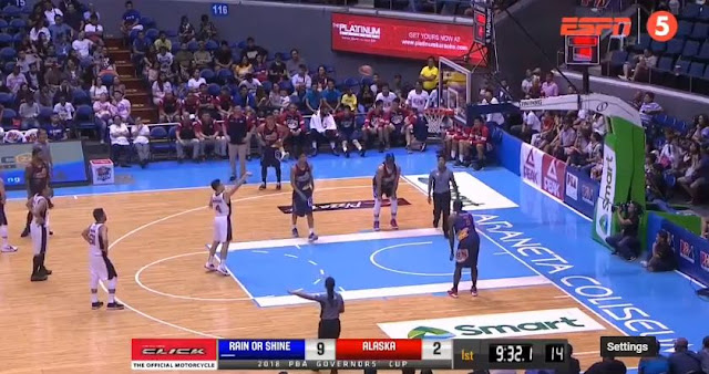 Video Playlist: Alaska vs Rain or Shine game replay 2018 PBA Governors' Cup