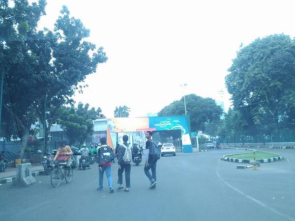 Menghabiskan akhir pekan menikmati pameran BRI Indocomtech di JCC Senayan