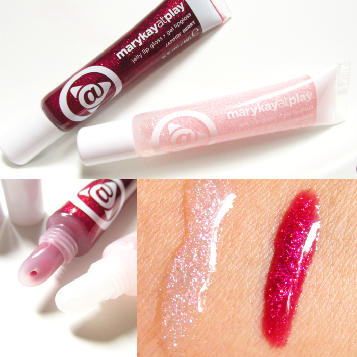 Review & Swatches: Mary Kay at Play - Jelly Lip Gloss - Jammin`Berry & Glow With It