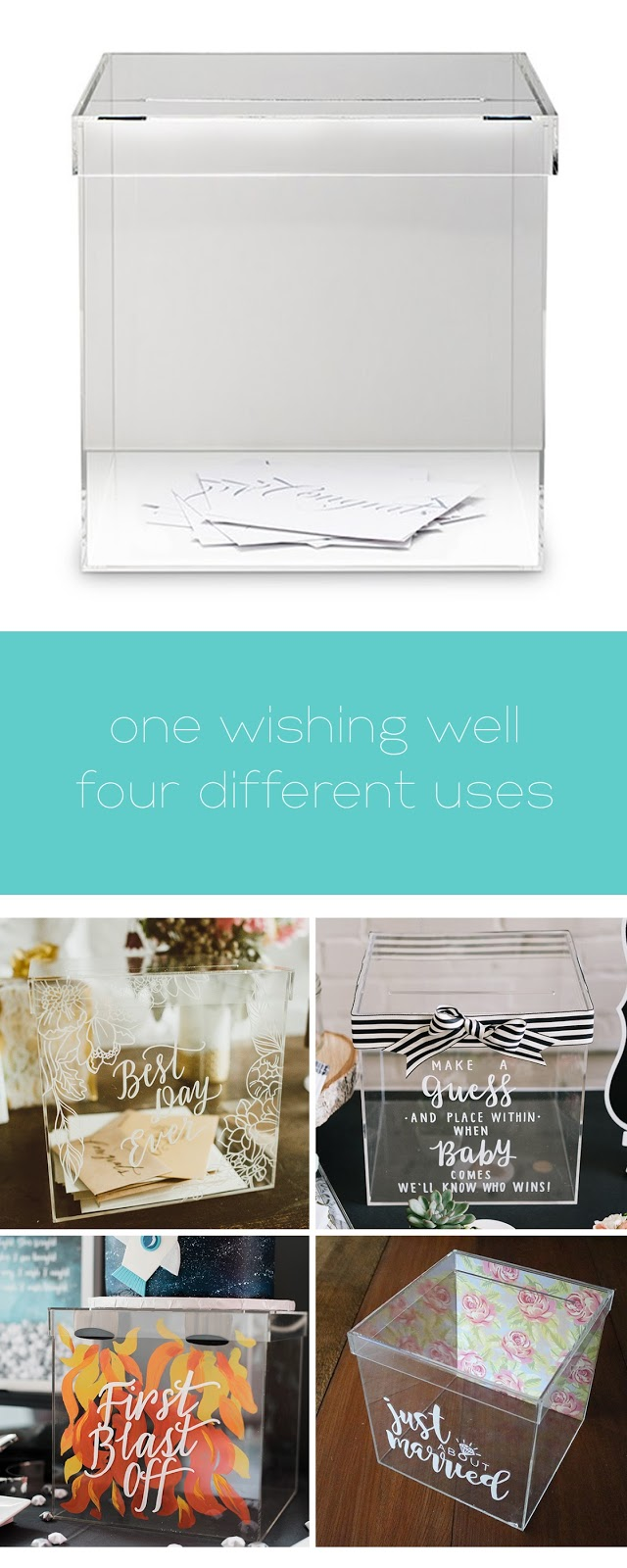 one wishing well and four creative ways to use it | creativebag.com