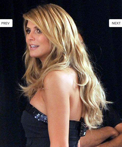 Hannah Montana Heidi Klum Hairstyle