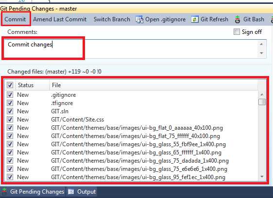 How to Use Git with Visual Studio 2010 ? | Sampath Lokuge Tech Blog
