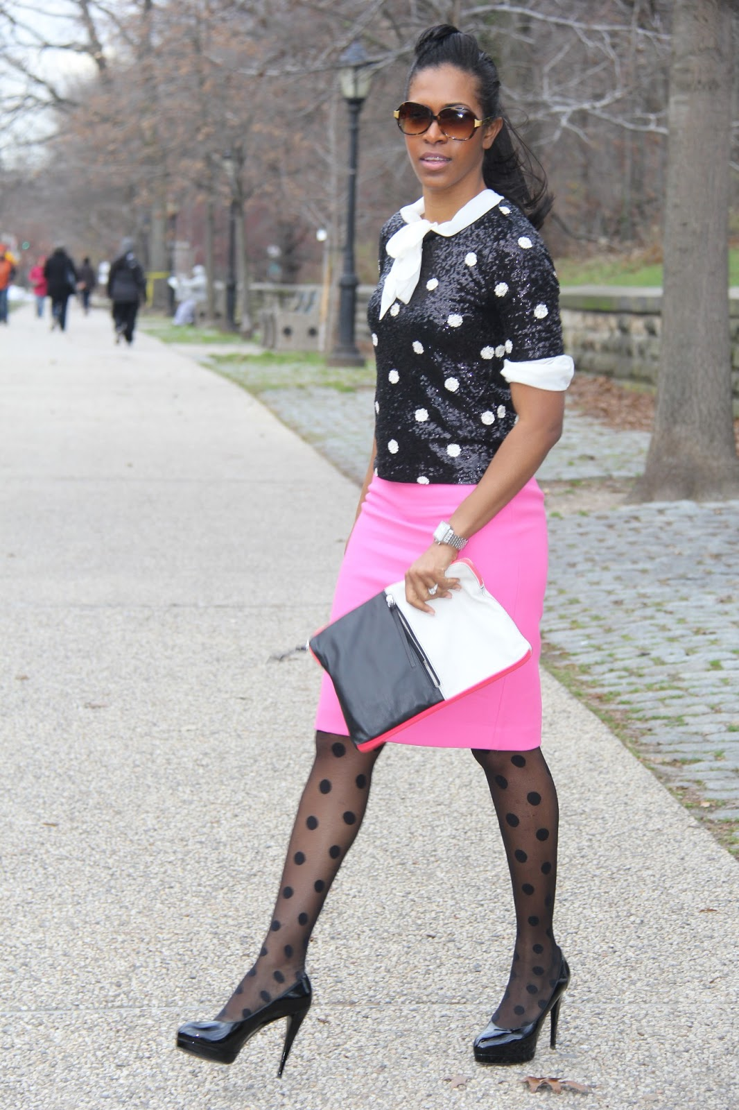 Fabulous Dressed Blogger Woman Delecia