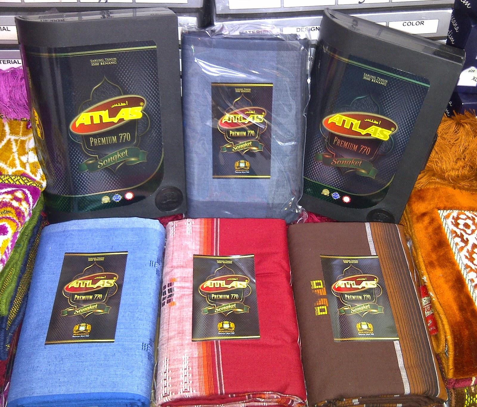 GROSIR Atlas Premium Songket Spesial 770 Sarung Murah
