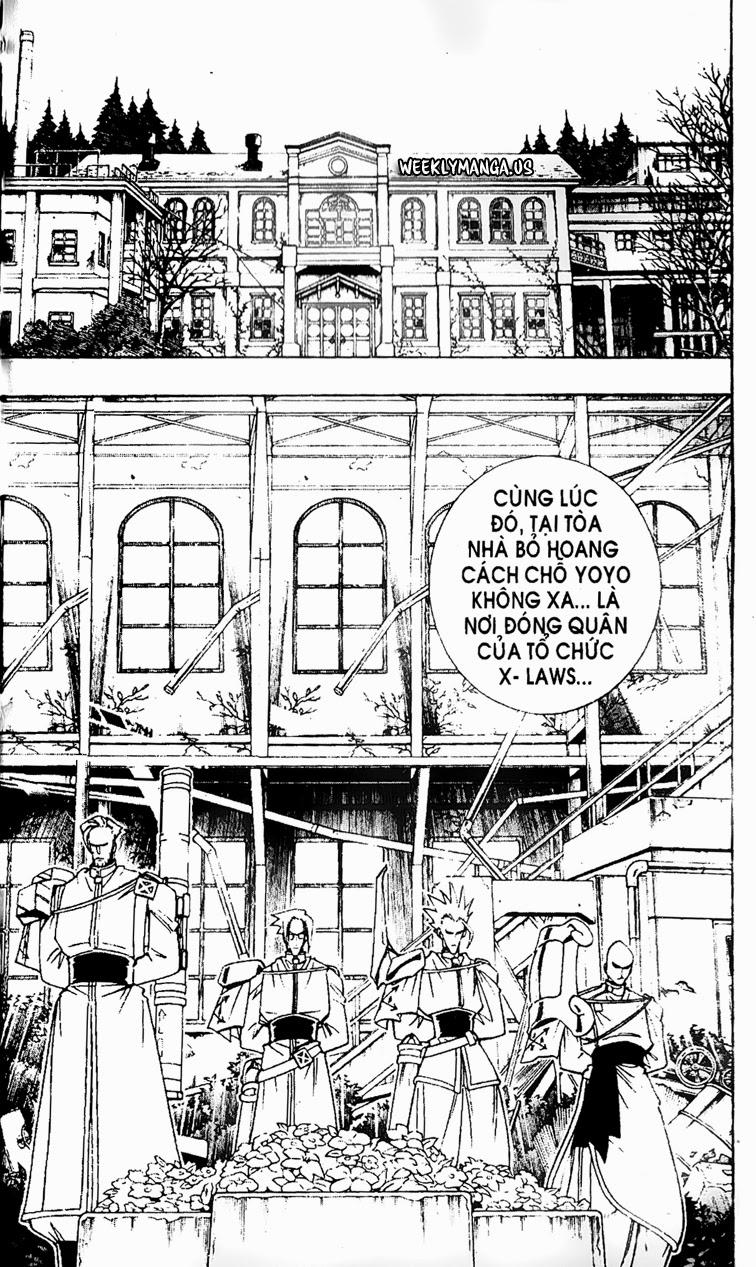 Shaman King [Vua pháp thuật] chap 178 trang 13