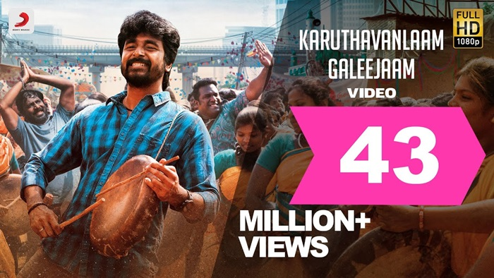 Karuthavanlaam Galeejaam Video Song Download Velaikkaran 2017 Tamil