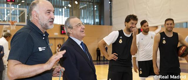 """Florentino Pérez: """"He pedido a la NBA que nos incluyan en la Conferencia Este"""""""