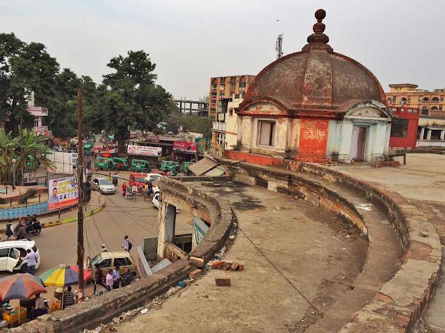 gol darwaza heritage walk chowk lucknow travel