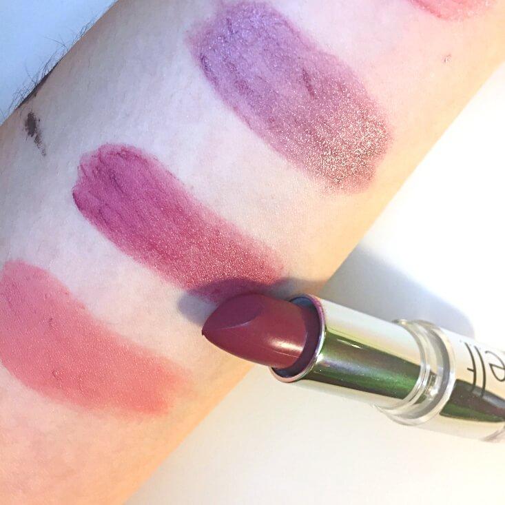 e.l.f. Beautifully Bare Satin Lipstick Touch of Berry