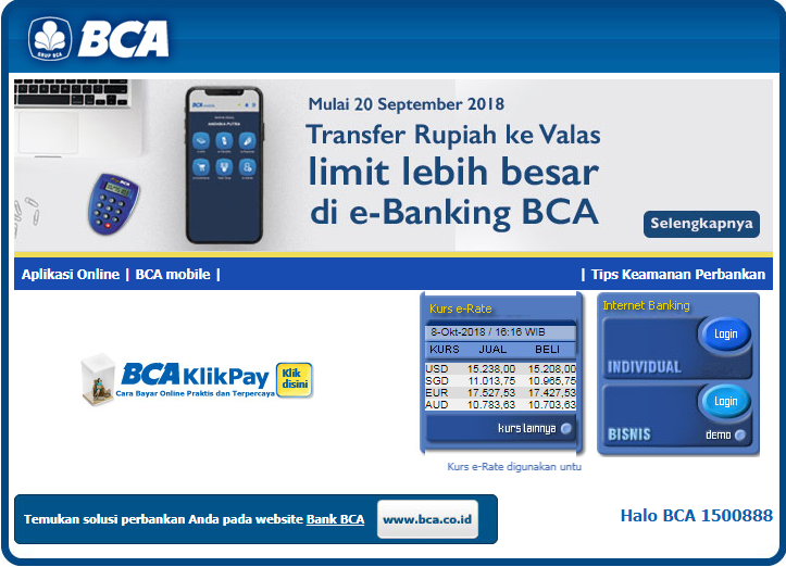 Cara Membayar Angsuran Mobil Di Bca Finance Melalui Internet Banking Citizen Journalism