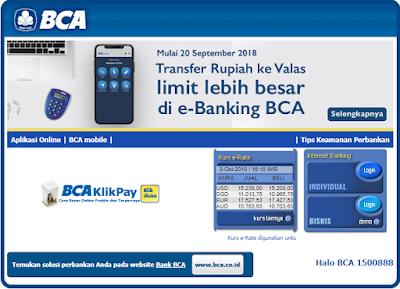 Cara Membayar Angsuran Mobil di BCA Finance Melalui Internet Banking