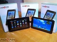 Daftar Harga Tablet Advan Terbaru September 2017