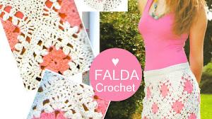 Patrones y Moldes de Falda Crochet / Paso a paso