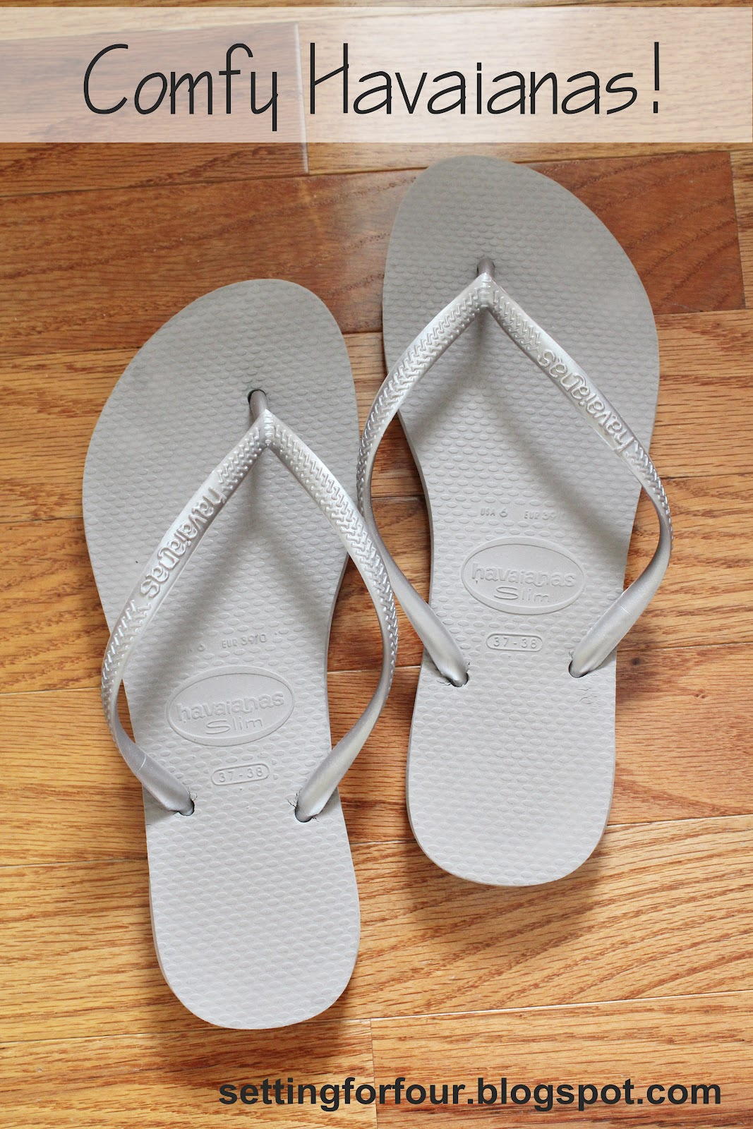 924ef18d17da7 What I Love  My Havaiana s - Setting for Four