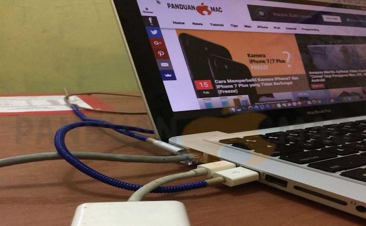 Cara Menghubungkan Mac ke LCD Proyektor dan TV