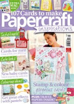 I was published inPapercraft Inspirations!