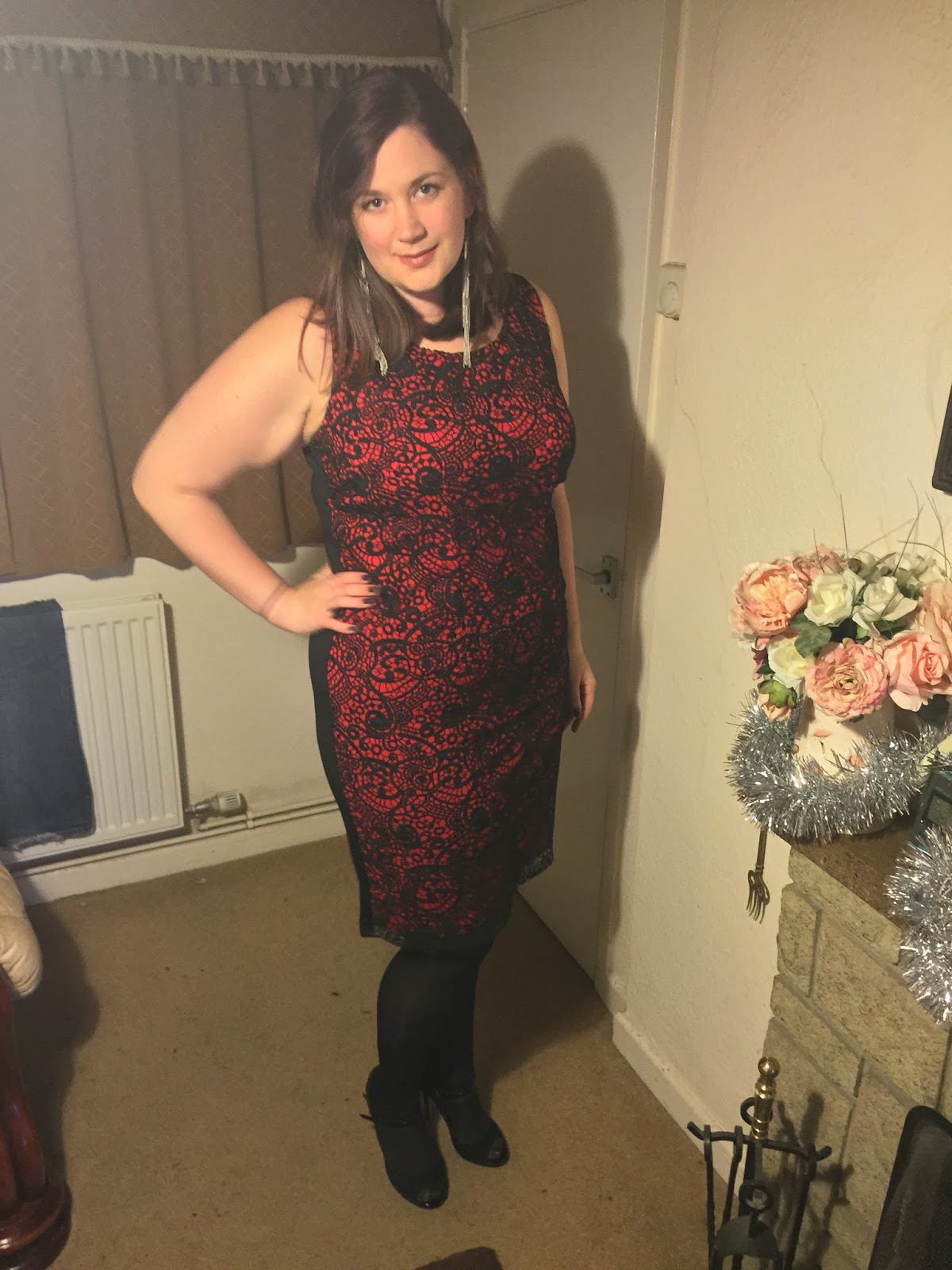 Curvy Girl Thin Plus Size Party Wear With Curvissa
