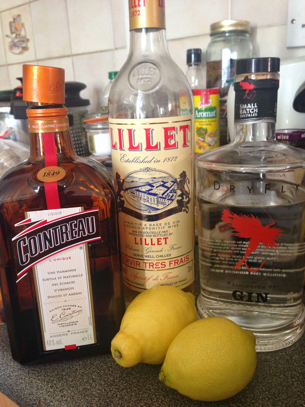 Stitch & Bear - Corpse Reviver #2 - Ingredients