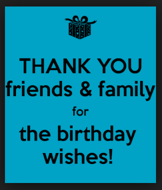 This side of fifty thanks for the birthday greetings thanks for the birthday greetings m4hsunfo