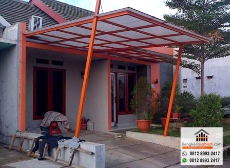 Canopy Baja Ringan Depok Jasa Pembuatan Pagar Kanopi Teralis Railing Tangga Balkon Di