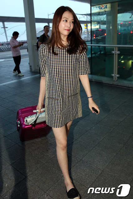 Steal Her Look: Sulli's Gingham Dress