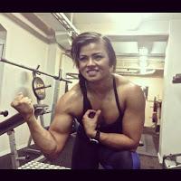 Sophie arvebrink Sweden Female bodybuilding