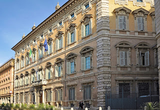 Palazzo Madama in Rome, the seat of the Italian Senate