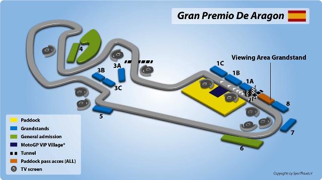 Jadwal Lengkap MotoGP Aragon Jumat-Minggu 21-23 September 2018