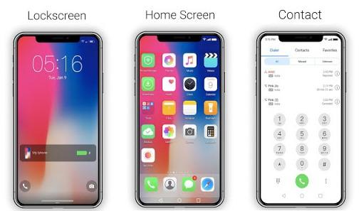 Kumpulan Tema Huawei HWT Keren - iOS 12