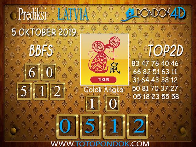 Prediksi Togel LATVIA POOLS PONDOK4D 05 OKTOBER 2019