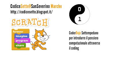 Logo CodiceSette@SanSeverino Marche