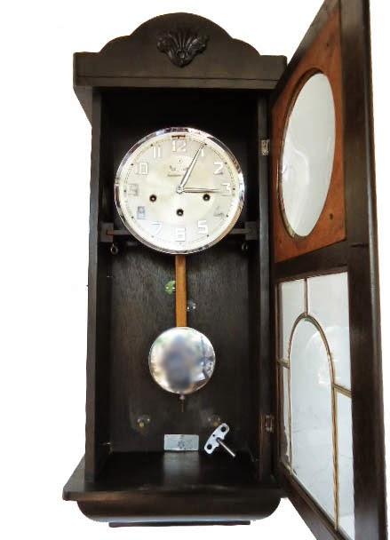 Junghans Westminster de Luxe Kawat 8 (+Silent Mode). Satu unit jam dinding  antik Junghans Westminster de Luxe 0825e913da