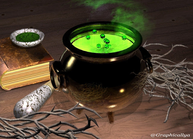 Image Result For A Cauldron And