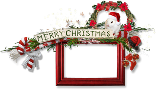 Christmas greeting card clipart 4