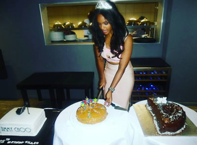 bbafrica 2016 Dillish Mathews Birthday party Namibia