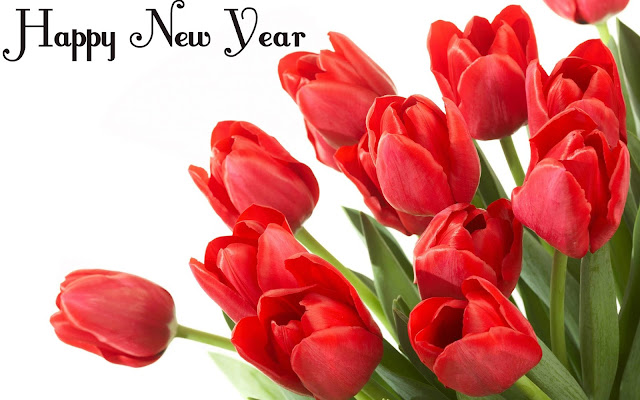 Flower Happy New Year     Merry Christmas And Happy New Year 2018 flower happy new year